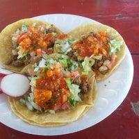Photo taken at El Super Antojito-Taco Truck by David J. F. on 9/29/2013