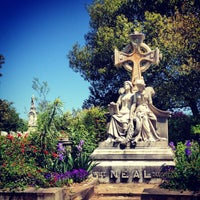 Photo taken at Oakland Cemetery by Chad E. on 5/12/2013