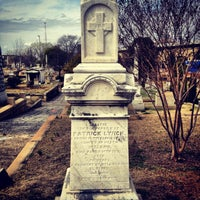 Photo taken at Oakland Cemetery by Chad E. on 3/17/2013