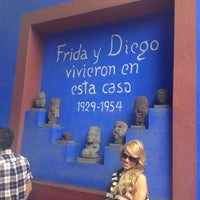 Photo taken at Museo Frida Kahlo by LuisRo S. on 7/28/2013