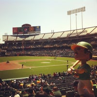 Photo taken at O.co Coliseum by Jared M. on 4/27/2013