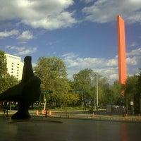 Photo taken at Museo de Arte Contemporáneo de Monterrey (MARCO) by Ana R. on 10/18/2012