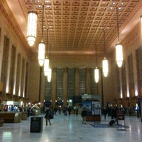 Photo taken at 30th Street Station (ZFV) by Christopher R. on 3/1/2013