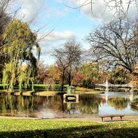 Photo taken at Boston Public Garden by Christopher R. on 11/20/2012