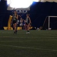 Photo taken at Sports Dome by Tricia E. on 11/23/2013