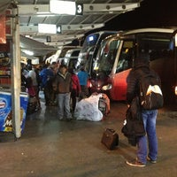 Photo taken at Terminal de Buses O'Higgins by Charlie P. on 12/19/2012