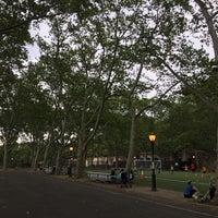 Photo taken at 101 Street Soccer Field by Larry on 6/7/2016