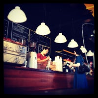 Photo taken at Lonsdale St. Roasters by Mitchell H. on 10/23/2012