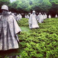 Photo taken at Korean War Veterans Memorial by Adrian C. on 6/24/2013