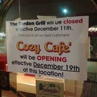 Photo taken at The Garden Grill by Allen H. on 12/20/2013