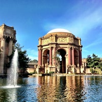 Photo taken at Palace of Fine Arts by Thomas on 1/22/2013