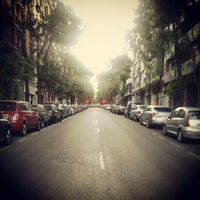 Photo taken at Calle Vallehermoso by Caleb H. on 6/23/2013