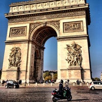 Photo taken at Place Charles de Gaulle by Phil B. on 10/21/2012