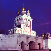 Photo taken at Novodevichy Convent by Александр <С> Г. on 1/4/2013