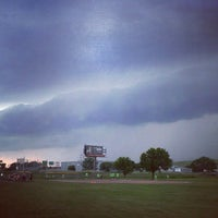 Photo taken at Expressway Field by Adrian O. on 6/16/2014