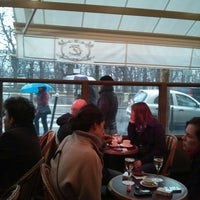Photo taken at Le Rostand by Ben Q. on 3/17/2013