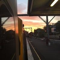 Photo taken at Flemington Station by Jarryd P. on 10/22/2014