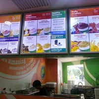 Photo taken at Boost Juice Bars by Shanghai H. on 2/1/2013