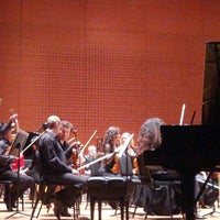 Photo taken at Alice Tully Hall at Lincoln Center by Jonathan M. on 11/6/2012