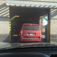 Photo taken at The Glo Car Wash by Iran M. on 1/20/2013