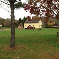Photo taken at East Jersey Olde Towne Village by Adam S. on 11/1/2012