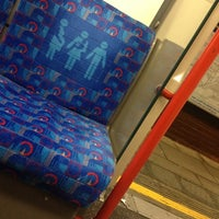 Photo taken at Perivale London Underground Station by Rob O. on 10/23/2012