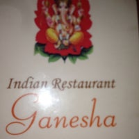 Photo taken at Indian Restaurant Ganesha by Jacky K. on 8/5/2013