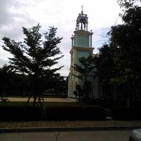 Photo taken at โรงเรียนราษฎร์บำรุงศิลป์ by Pornthep P. on 7/30/2014