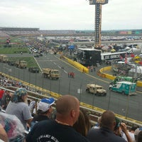 Photo taken at Charlotte Motor Speedway by Red Sox Fan on 5/29/2016