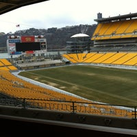 Photo taken at Heinz Field by Kristin O. on 2/20/2013