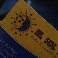 Photo taken at El Sol Y La Luna by Carli W. on 9/8/2013
