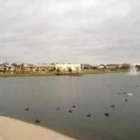Photo taken at The Park at Josey Ranch Lake by Adam C. on 10/24/2012