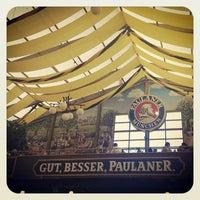 Photo taken at Paulaner Festzelt - Winzerer Fähndl by Ethan P. on 9/23/2013