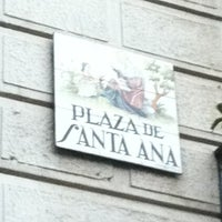 Photo taken at Plaza de Santa Ana by JJay043 on 10/19/2012