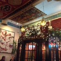 Photo taken at Khyber Pass Cafe by Nancy H. on 2/23/2014