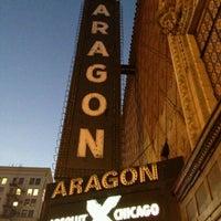 Photo taken at Aragon Ballroom by Kenyadi on 11/16/2012