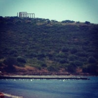 Photo taken at Cape Sounion by Stefanie B. on 5/2/2013