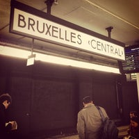 Photo taken at Brussels Central Station by Zach L. on 4/24/2013