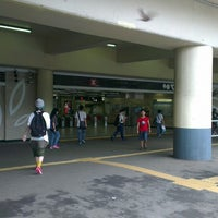 Photo taken at MTR Sha Tin Station by Masaru Y. on 6/14/2013