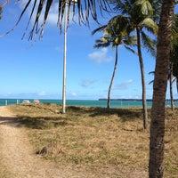 Photo taken at Praia de Tambaú by Fernanda L. on 2/7/2013