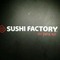 Photo taken at Sushi Factory by Erick H. on 9/14/2012