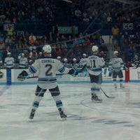 Photo taken at Alfond Arena by Sarah E. on 3/3/2013