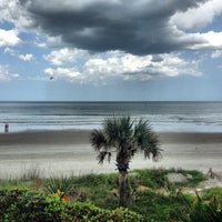 Photo taken at Wilbur-by-the-Sea Beach by Jason S. on 5/12/2013