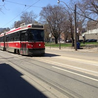 Photo taken at TTC Streetcar #501 Queen by Jonathan C. on 5/1/2013