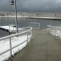 Photo taken at Sloan's Lake Park by Aj S. on 10/25/2012
