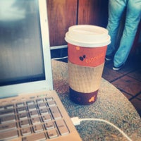Photo taken at Tanner's Coffee Co by Teri on 2/12/2013