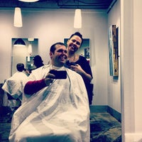 Photo taken at Crimpers Hair Salon by Tyler L. on 4/28/2013