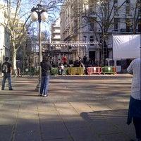 Photo taken at Plaza de Cagancha by Masu M. on 9/14/2012