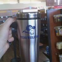 Photo taken at Texas Wesleyan Bookstore by Kate J. on 11/20/2012