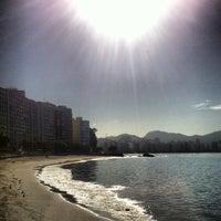 Photo taken at Praia das Flexas by Luiz M. on 1/23/2013